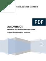 Algoritmos en Pseint