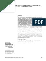 CONTRIBUIÇÕES DA PERSPECTIVA HISTÓRICIO-SOCIAL DE LURIA PARA A PESQUISA CONTEMPORÂNEA