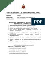 Requisitos Para Especialistas