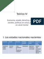 Economia, estado, derechos, políticas en