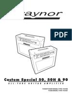 Traynor Amp Manual