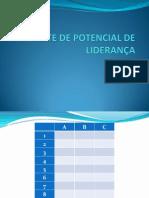TESTE DE POTENCIAL DE LIDERANÇA