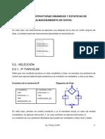 Unidad 5. Estructuras Dinamicas y Estaticas de Almacenamiento de Datos.
