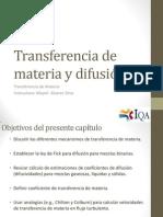 Transferencia de Materia y Difusión 01