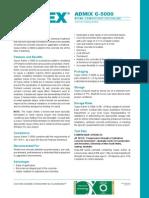 Xypex C-5000 Datasheet 2013