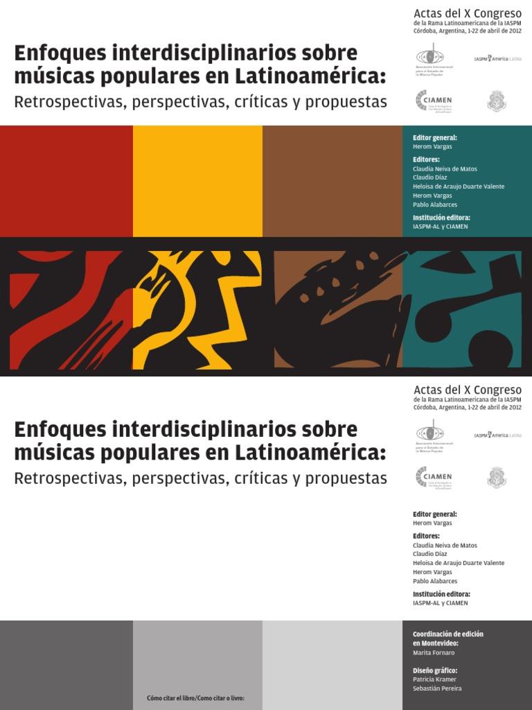 ¿Enfoques interdisciplinarios sobre músicas populares en ... 584cf11e8c31b