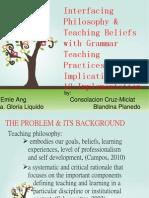Teaching Practices & Philo