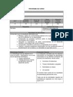 Programa CM1001