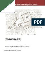 Topografia (Forma Del Terreno y Curvas de Nivel)