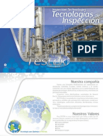 Catálogo Tecnologías de inspección Testek de Colombia