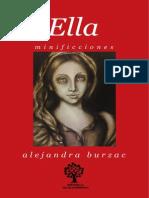 Ella Minificciones de Alejandra Burzac