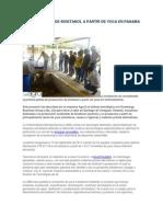 Inauguran Ubm de Bioetanol a Partir de Yuca en Panama