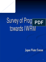 Survey of Progress Towards IWRM