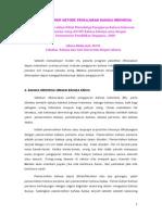 Prinsip-prinsip Metode Pengajaran
