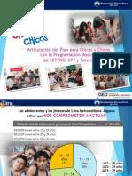 Articulación del Plan para Chicas y Chicos con - copia