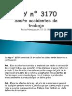 LEY n° 3170