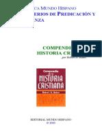Compendio de La Historia Cristiana - Robert a. Baker