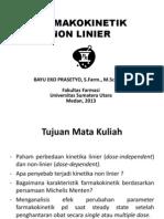 1. Non Linier Farmakokinetik 2013. Baru