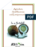 Agriculture, Small Business and Entrepreneurship