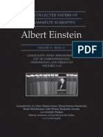 the Collected Papers of Albert Einstein Volume 11 Cumulative Index Bibliography List of Correspondence Chronology and Errata to Volumes 1 10