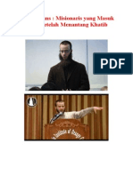 Yusha Evans Misionaris Yang Masuk Islam Setelah Menantang Khatib