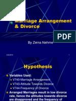 Marriage Arrangement & Divorce Powerpoint