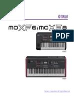 Yamaha Moxf6,8