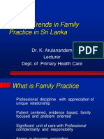 Current Trends in Family Practice