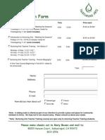 NA Registration Form II