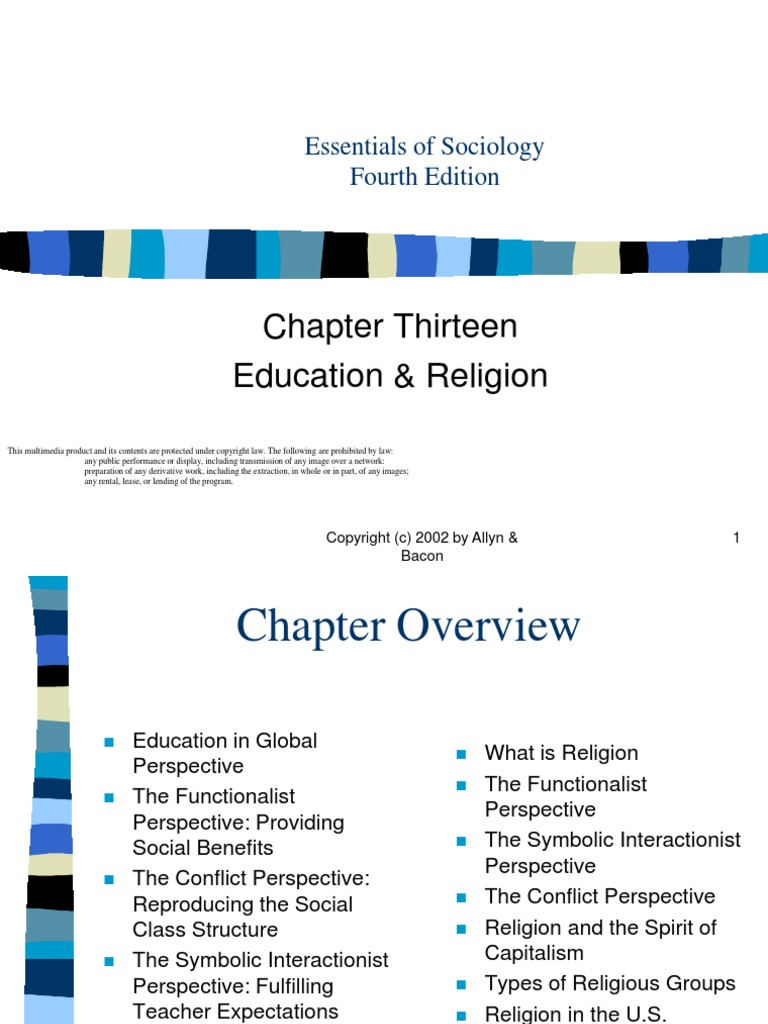 Education Religionch13 Rituals Sociological Theories