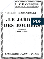 Kazantzaki Jardin Des Rochers Ocr