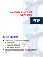 OCR F453 - Advanced Relational Databases