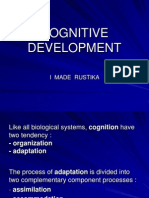 Lecture 14 Cognitive Development