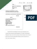 S.E.C. Lawsuit Alleging Insider Trading Against Galleon Group, et al