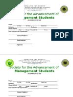 Alumni Form