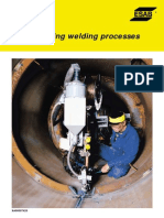 Mechanizing Welding Process