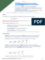 y = mx + c.pdf