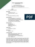 Halaman Depan JUITA Volume II Nomor 4