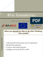 IPv6 Fundamentals
