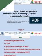 Capteurs Thermiques Solaires Cours Laaroussi 1