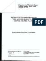 Radionuclide Concentration in Fuels and Ash Products From Biofuel Heating Plants