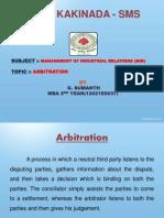 37 Mir Arbitration