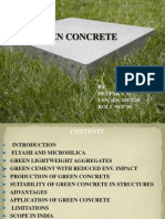 Green Concrete- civil engineering