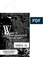 What is Information warfare
