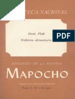 Folklore Alimentario de Chile