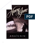 Nin Anais - Henry Y June