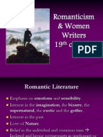 Women Writers in the Romantic Period