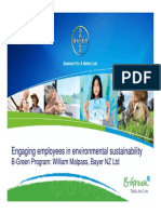 Bayer Innovation Council Sustainability Presentation2