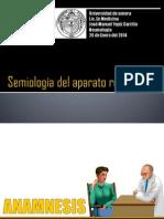 Semiología del aparato respiratorio