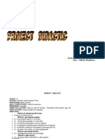 Pro i Ect Didactic